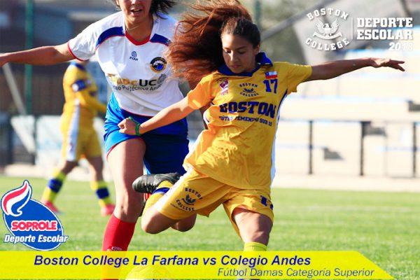 Eliminatoria de Copa Soprole vs Colegio Andes
