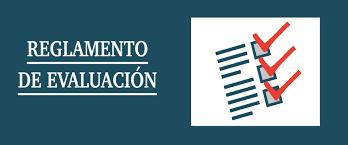 Reglamentos Evaluación 2021