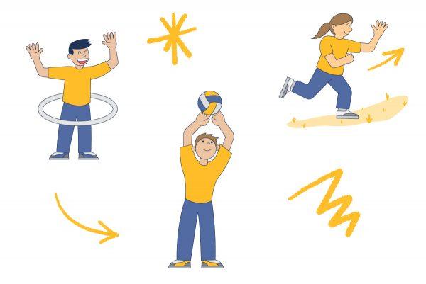 Recuperando la actividad física y vida sana en Boston College La Farfana